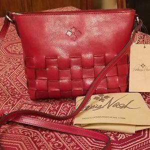 🆕️Patricia Nash Caranna crossbody leather bag